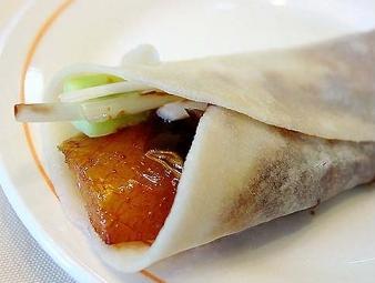 Pekingi kacsa wrap
